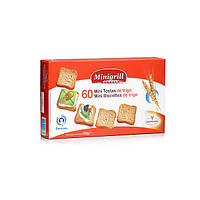 Тости Minigrill 120г пшеничні