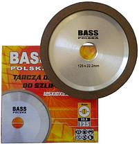 Алмазный диск для заточки дисков с твердосплавной режущей пластиной 125x10x2x22,2мм, фото 3