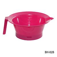 Ёмкость для окрашивания волос BH-02B с ручкой, размер: 15,5х14x6 см