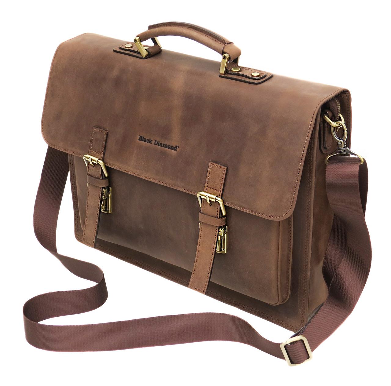 981e377e2a79 Мужской кожаный портфель Black Diamond BD50v1C - Интернет-магазин сумок