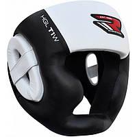 Боксерский шлем с защитой подбородка [кожа Nappa], фото 1