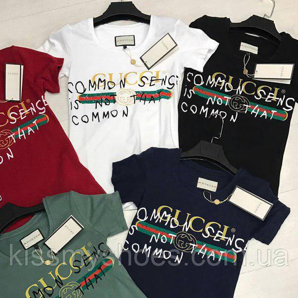 17d6a99812014 Женская футболка Gucci: продажа, цена в Киеве. футболки и майки ...
