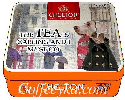 """Чай черный Chelton""""Чай зовет"""" 60 гр ж/б"""