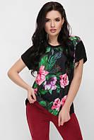 "Женская футболка черная ""Air"" FB-1614D1 размеры 42-56, фото 1"