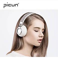 Бездротові навушники Sound Intone Picun P8 White-Silver, фото 2