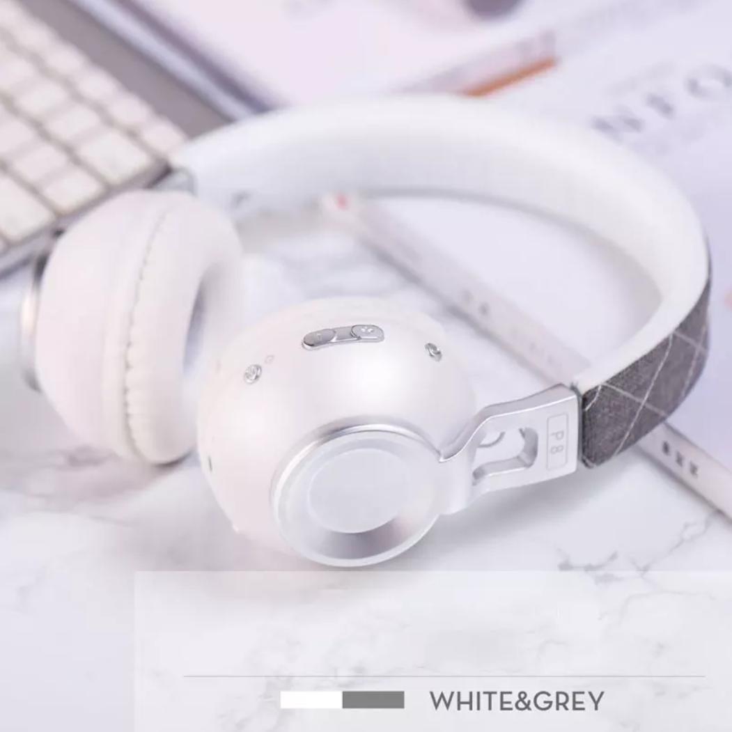 Бездротові навушники Sound Intone Picun P8 White-Silver