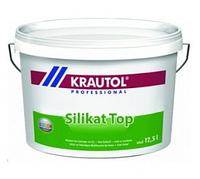 Краска фасадная дисперсионно-силикатная Krautol Silikat Top В3 (4,7л)