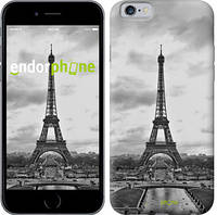 "Чехол на iPhone 6 Чёрно-белая Эйфелева башня ""842c-45-571"""