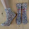 Капроновые носки с рисунком женские НК-2769