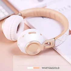Бездротові навушники Sound Intone Picun P8 White-Gold