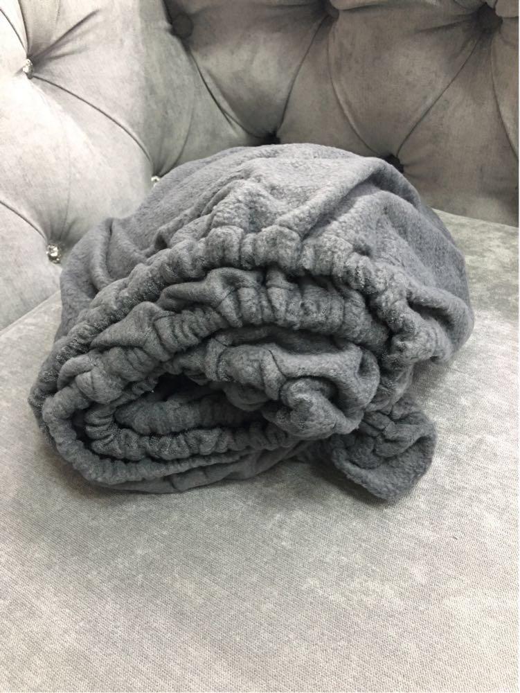 Чехол на кушетку 180*60, серый