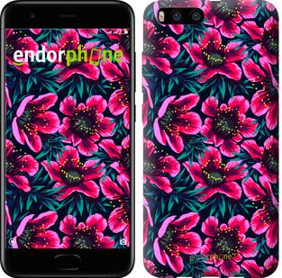 "Чехол на Xiaomi Mi Note 3 Яркие цветы ""3102u-978-571"""