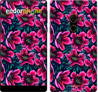 """Чехол на Xiaomi Mi MiX 2 Яркие цветы """"3102u-1067-571"""""""