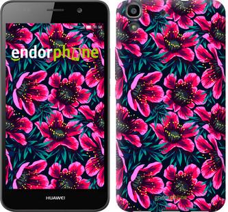 "Чехол на Huawei Y6 Яркие цветы ""3102c-333-571"""