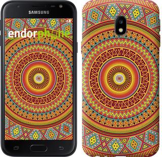 "Чехол на Samsung Galaxy J3 (2017) Индийский узор ""2860c-650-571"""