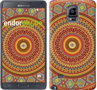 "Чехол на Samsung Galaxy A8 Plus 2018 A730F Индийский узор ""2860u-1345-571"""