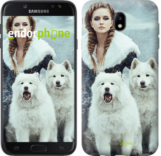 "Чехол на Samsung Galaxy J7 J730 (2017) Winter princess ""4048c-786-571"""