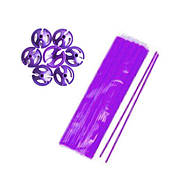 Палочки для воздушных шаров (фиолетовая)