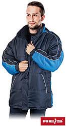 Куртка зимова робоча Reis Польща (спецодяг утеплена флісом) COALA GN