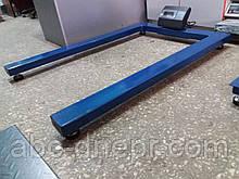 Весы для склада паллетные 600, 1000, 1500 кг ВТП-Пал