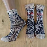 Капроновые носки с рисунком женские НК-2772, фото 1