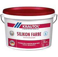 Краска фасадная силиконовая Krautol SilikonFarbe B1 (10л)