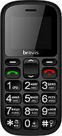 Телефон BRAVIS C181 Senior Dual Sim (black)