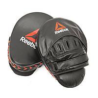 Лапы боксерские Reebok Combat (RSCB-11250) Black
