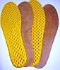 Спортивные стельки Eva (Эва) + ткань (желтые)
