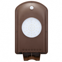 Вуличний LED світильник на сонячних батареях 2W