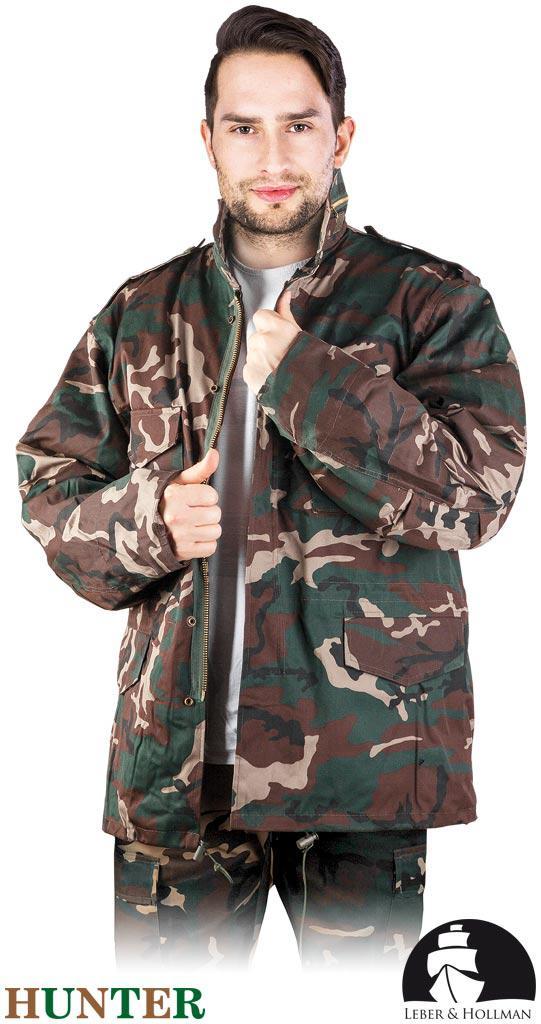 Куртка робоча камуфляжна з відстібною подкладкою Польща (утеплений робочий одяг) LH-HUNPOL MO