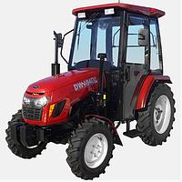 Трактор с кабиной DW 404DС (40 л.с. 4х4 4 цил. ГУР)