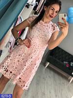 Платье женское из кружева
