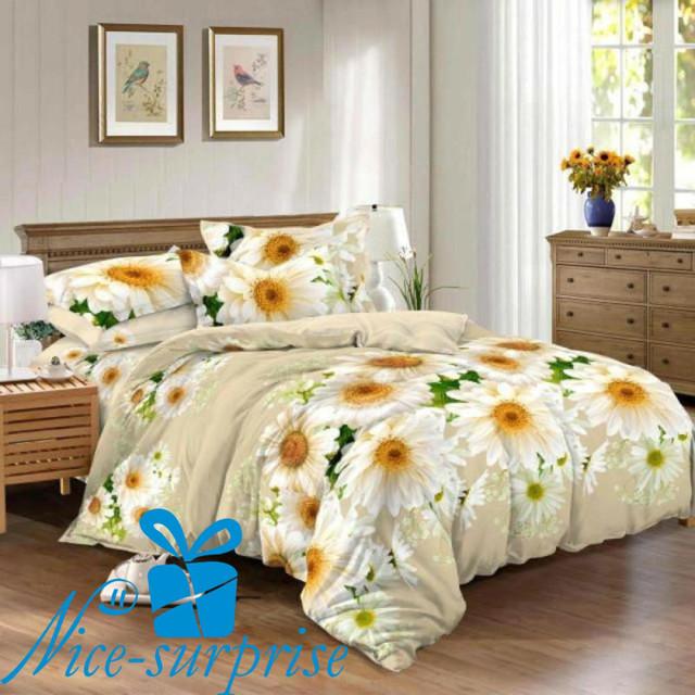 купить двойной комплект постельного белья в Киеве