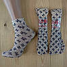 Капроновые носки с рисунком женские НК-2781