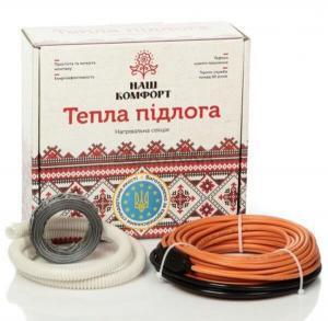 Двухжильный нагревательный кабель Наш Комфорт БНК-1210