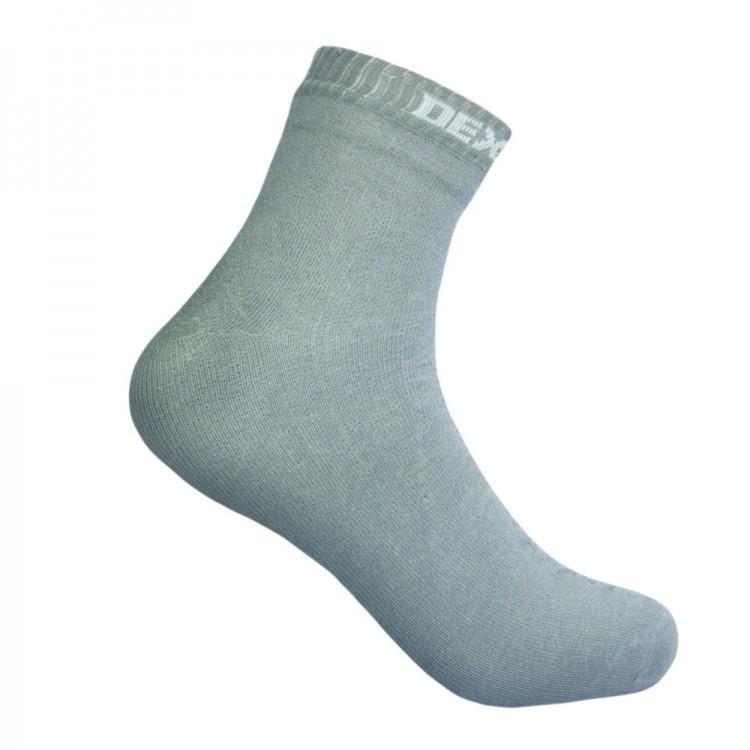 Водонепроницаемые носки DexShell Ultra Thin Socks DS663HRG серые