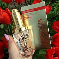 Сыворотка для лица BIOAQUA 24K Gold Skin Care с гиалуроновой кислотой и частичками золота