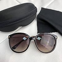 Солнцезащитные очки женские Miu Miu Sunglasses Reveal Black Bordo (реплика  люкс класса 1  c673546393a