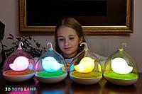 """Детский ночник — светильник """" Птичка"""" 3DTOYSLAMP"""