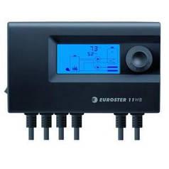 Euroster 11WB - контроллер управления твердотопливного котла с вентилятором, насосов Ц.О. и ГВС. (Германия)