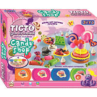 Тісто для ліплення Candy shop Велика майстерня солодощів, з різними інструментами, ОКТОЇХ