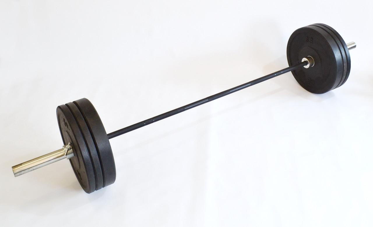 Штанга для кроссфит и тяжелой атлетики 140 кг (CrossFit) D50мм. L2200мм.