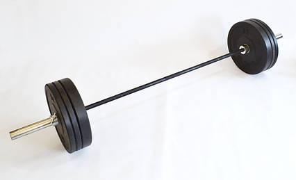 Штанга для кроссфит и тяжелой атлетики 140 кг (CrossFit) D50мм. L2200мм., фото 2