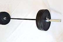 Штанга для кроссфит и тяжелой атлетики 140 кг (CrossFit) D50мм. L2200мм., фото 3