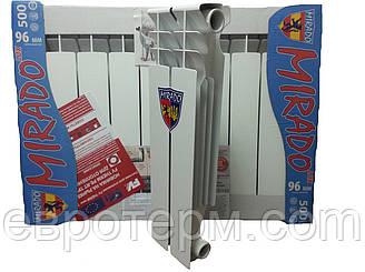 Алюминиевый радиатор Mirado Lux 500*96