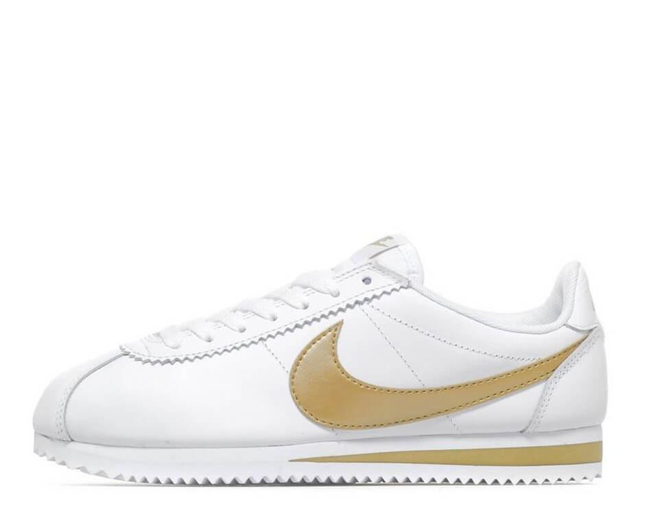 3982710e1dd Женские кроссовки Nike Cortez Glitter Pack White/Gold - vsishmotki.com в  Киеве