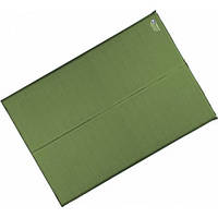 Самонадувающийся коврик Terra Incognita Twin 5 см зелёный 4823081502821