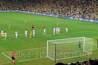 """Футбольная сетка """"Champions League - 2 М""""( ячейка - 6 см., Ø шнура - 4,5 мм.)"""