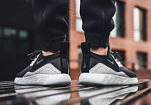 "Мужские кроссовки Nike Lunarcharge Essential noir ""Black/White/Grey"" (Реплика) 44 размер, фото 2"